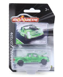 Majorette Limited Edition 3 Die Cast Ford Toy Car - Green