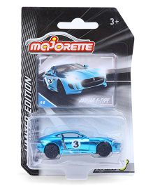 Majorette Limited Edition 3 Die Cast Jaguar Toy Car - Blue