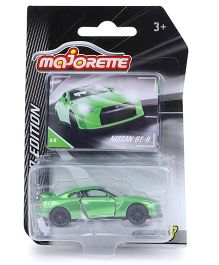Majorette Limited Edition Series 3 Nissan Toy Car - Green