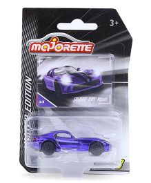 Majorette Limited Edition Dodge SRT Viper Toy Car - Purple