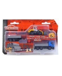 Majorette City Construction Vehicle Play Set - Multicolor