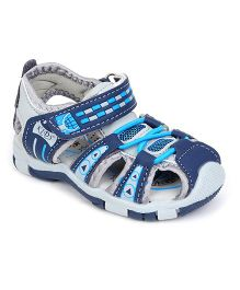 Cute Walk by Babyhug Sandals -  Blue Light Grey