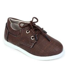 Cute Walk by Babyhug Party Wear Shoes - Brown