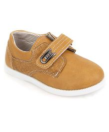 Cute Walk by Babyhug Casual Shoes With Velcro Closure - Light Brown