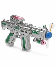 Playmate Space Gun - Green And Silver
