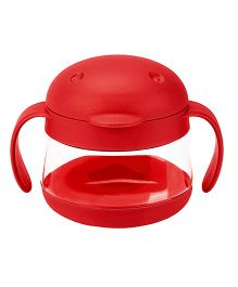 Ubbi Tweat Snack Container Red - 250 ml