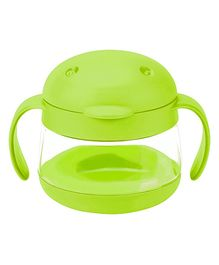 Ubbi Tweat Snack Container Green - 250 ml