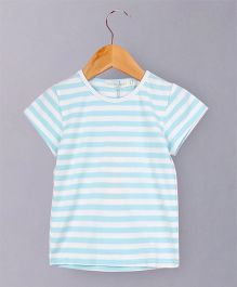 Awabox Striped Top - Blue
