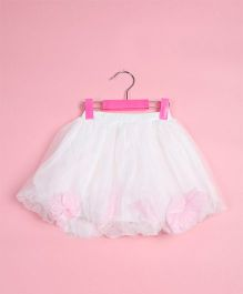 Awabox Smart Frilly Skirt - White