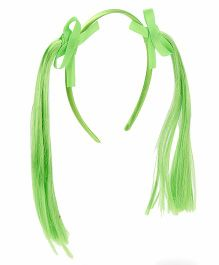 Treasure Trove Pony Tail Hair Band - Green