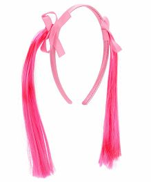 Treasure Trove Pony Tail Hair Band - Pink