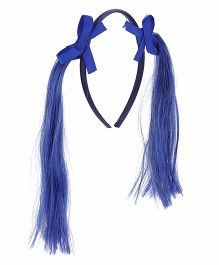 Treasure Trove Pony Tail Hair Band - Blue