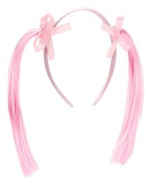 Treasure Trove Pony Tail Hair Band - Baby Pink
