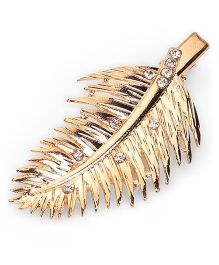 Treasure Trove Feather Clip - Gold