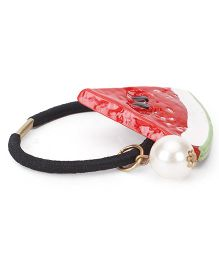 Treasure Trove Watermelon Pony Tail Holder - Red