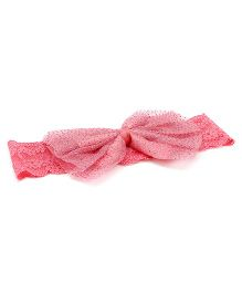 Treasure Trove Bow Hair Band - Pink