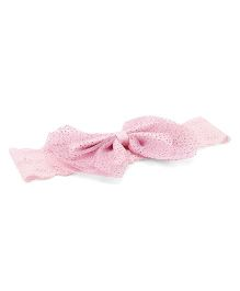 Treasure Trove Bow Hair Band - Baby Pink