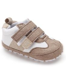 Cute Walk by Babyhug Casual Booties - Light Brown