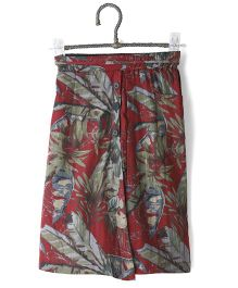 Cubmarks Floral Culottes - Maroon