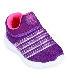 Cute Walk by Babyhug Sports Shoes - Purple
