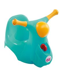 Okbaby Scooter Potty Chair - Turquoise
