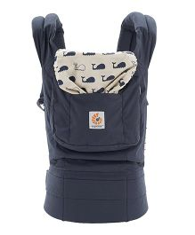 Ergobaby 3 Position Original Baby Carrier Marine - Navy Blue