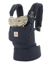 Ergobaby 3 Position Original Baby Carrier Sailor - Navy Blue