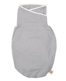 Ergobaby Cotton Polyester Knitted Swaddler - Grey