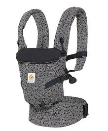 Ergobaby Adapt 3 Position Keith Haring Baby Carrier - Black