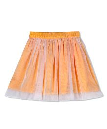 Budding Bees Solid Skirt - Orange