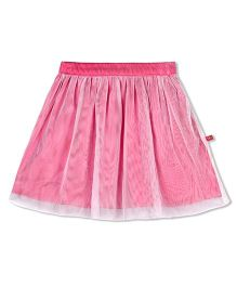 Budding Bees Solid Skirt - Pink