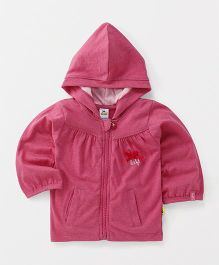 Tiny Bee Hooded Jacket - Pink
