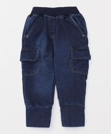 Little Kangaroos Full Length Jogger Jeans - Dark Blue