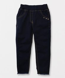 Little Kangaroos Full Length Jeggings - Dark Blue