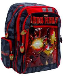 Simba Iron Man 3 Light Of Power Back Pack - 16 Inches