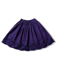 Tiddlywings Cute Frilly Skirt - Purple