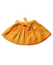 Tiddlywings Cute Skirt With Belt - Yellow
