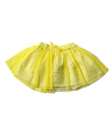Tiddlywings Double Layered Skirt - Yellow