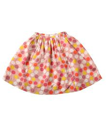 Tiddlywings Big Dots Skirt - Multicolour