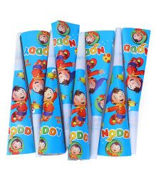Noddy Paper Blowout Horns Blue - 20 Pieces