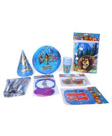 Themez Only Madagascar Birthday Party Kit - Multicolor