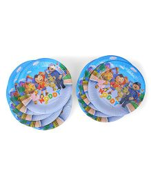 Noddy Paper Plates Blue - Pack Of 20