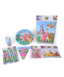 Themez Only Princess Birthday Party Kit - Multicolor