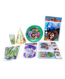 Themez Only Madagascar Birthday Party Kit - Green