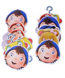 Noddy Paper Face Mask - Pack of 10