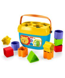Fisher Price Baby's 1st Blocks Refresh Shape Sorter Toy - Multi Color
