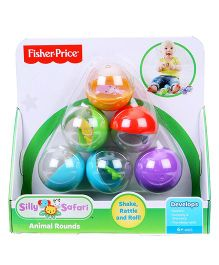 Fisher Price Rattle & Roll Animal Rounds - Multicolor