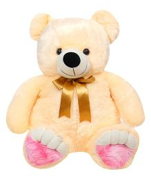Liviya Teddy Bear Soft Toy Peach - Height 82 cm