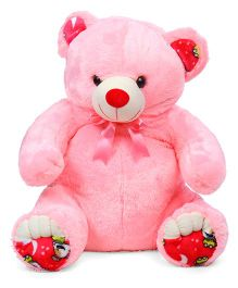 Liviya Sitting Teddy Bear Soft Toy Pink - Height 77 cm