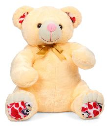 Liviya Sitting Teddy Bear Soft Toy Cream - Height 77 cm